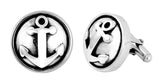 Anchor Button Cufflinks
