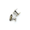 king baby scroll shield cufflinks
