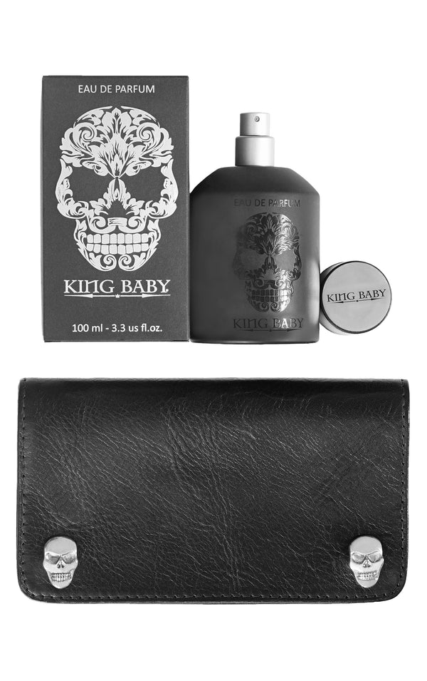 King Baby Skull Accessories Gift Set