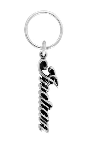 Indian Script Logo Key Fob