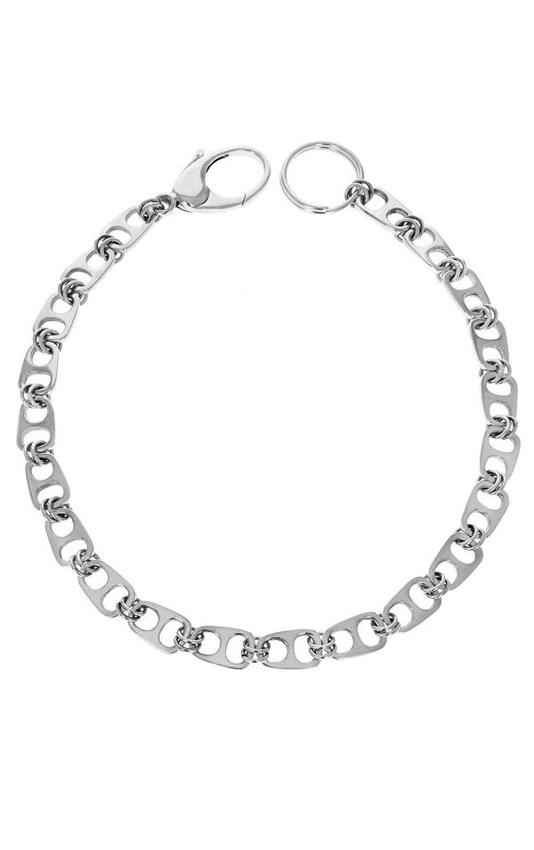king baby sterling silver wallet chain