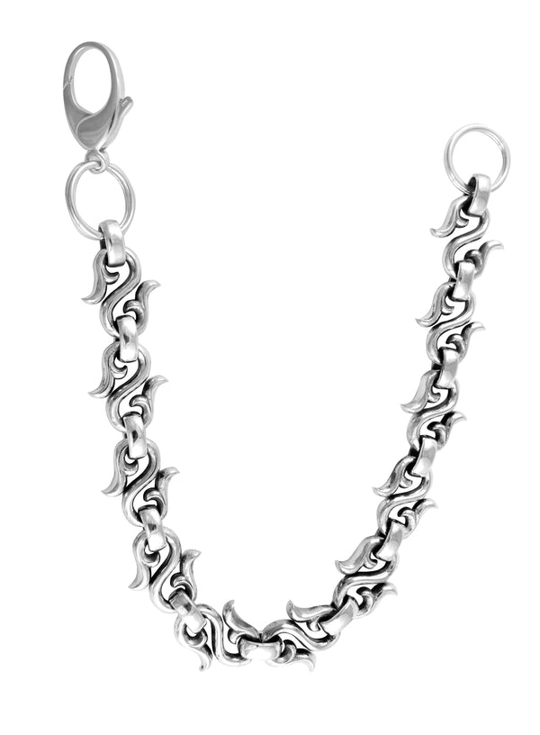 Large Split End S-Link Wallet Chain