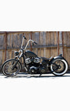 2007 Custom Built Harley Davidson Bobber Motorcycle with Suicide Shift