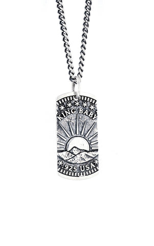 Liberty Dog Tag Pendant