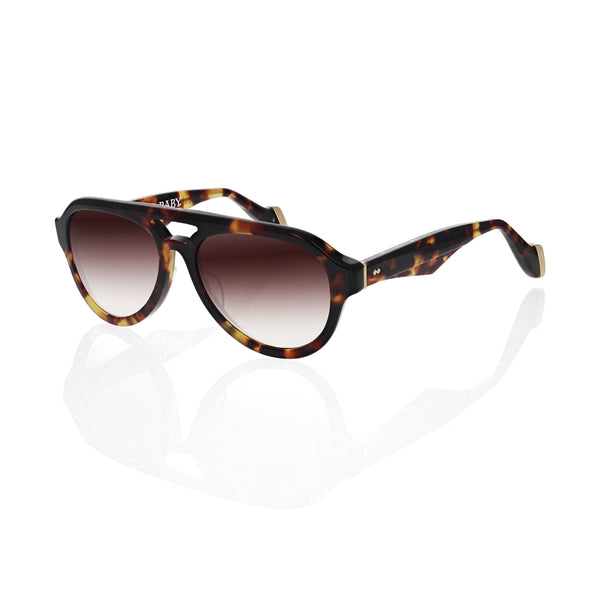 The Las Vegas Sunglasses - Brown Tortoise