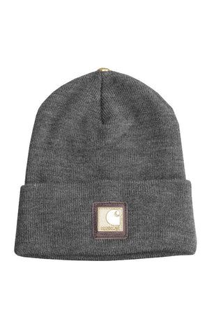 Carhartt X King Baby Grey Hat with Brass Logo Plate