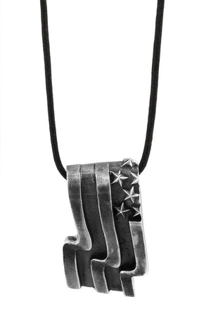 US Flag Pendant