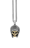 king baby limited edition skull pendant with headdress