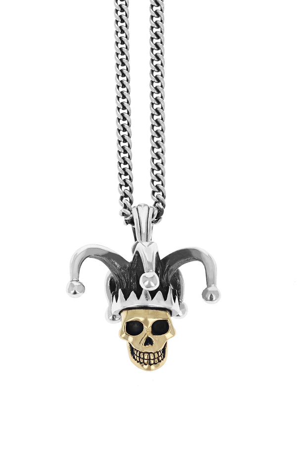 Limited Edition Jester Skull Pendant