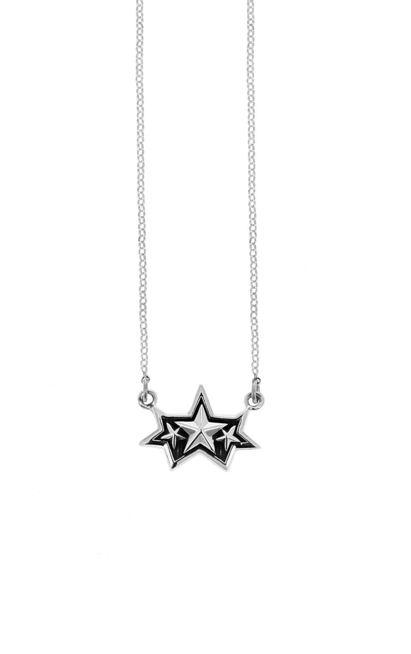 king baby framed multi-star pendant