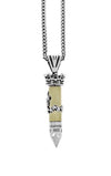 king baby 38 special bullet pendant with stars