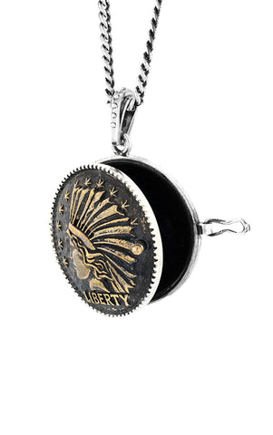 Liberty Headdress Locket