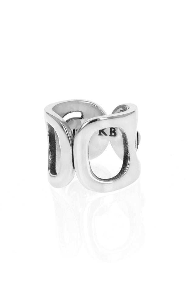 Large Pop Top Infinity Ring