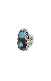 One-of-a-Kind Turquoise Scrollwork Ring