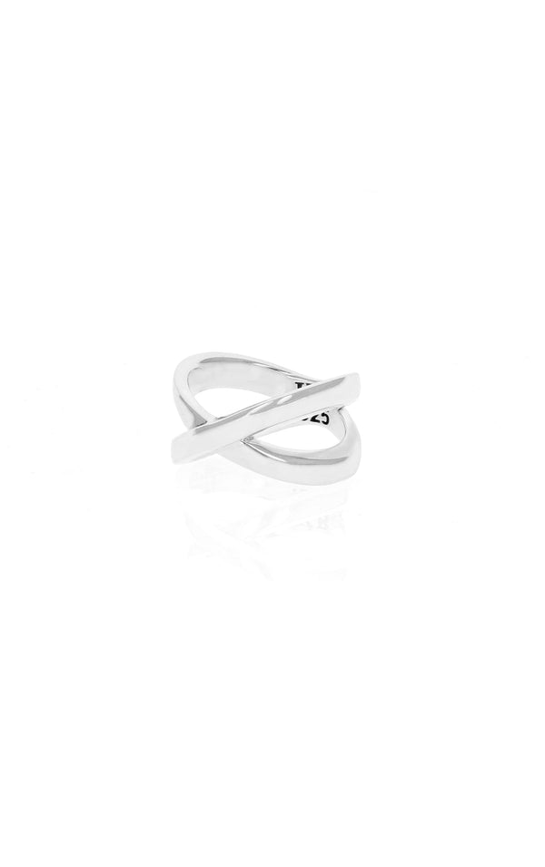 king baby x cross ring for women