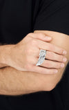 king baby mens wing ring