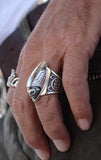 king baby indian motorcycle ring
