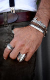 king baby men's indian motorcycle ring