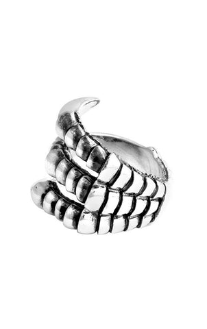 Large Raven Claw Ring