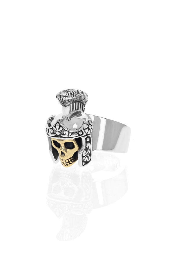 Limited Edition Gladiator Skull Ring