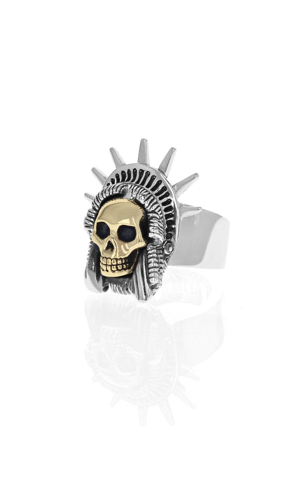 Limited Edition Liberty Skull Ring