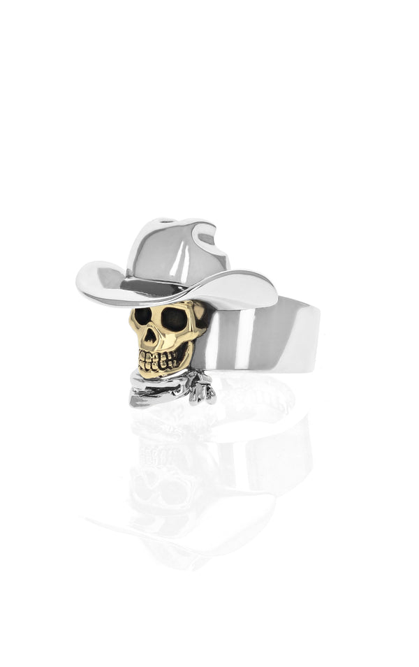King Baby Limited Edition Cowboy Skull Ring