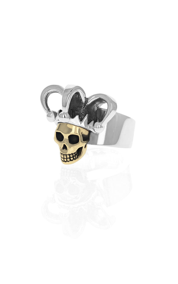 Limited Edition Jester Skull Ring