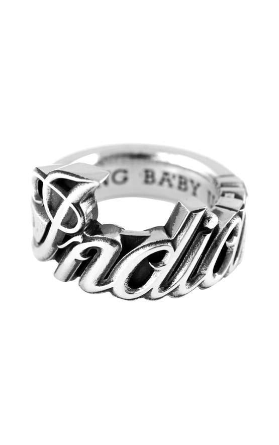 king baby indian motorcycle men's ring