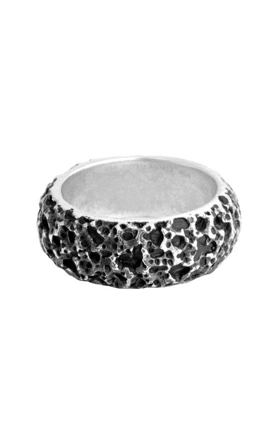 Lava Rock Textured Band