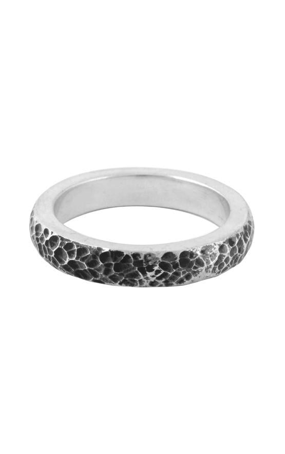 Hammered Texture Stackable Ring