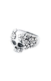 king baby sakura skull ring