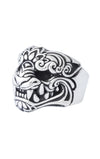 king baby oni mask ring