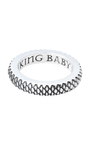king baby dragon scale ring