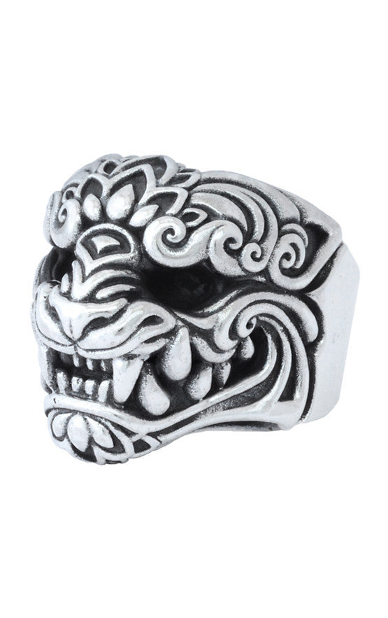 Large Oni Mask Ring