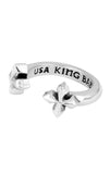 king baby open mb cross ring