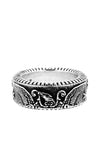King Baby American Eagle Coin Edge Ring