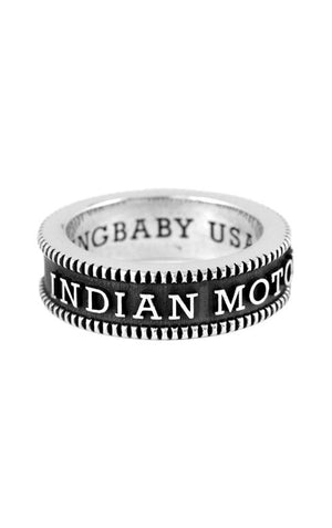 Indian Logo Coin Edge Band