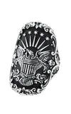 King Baby American Eagle Shield Ring