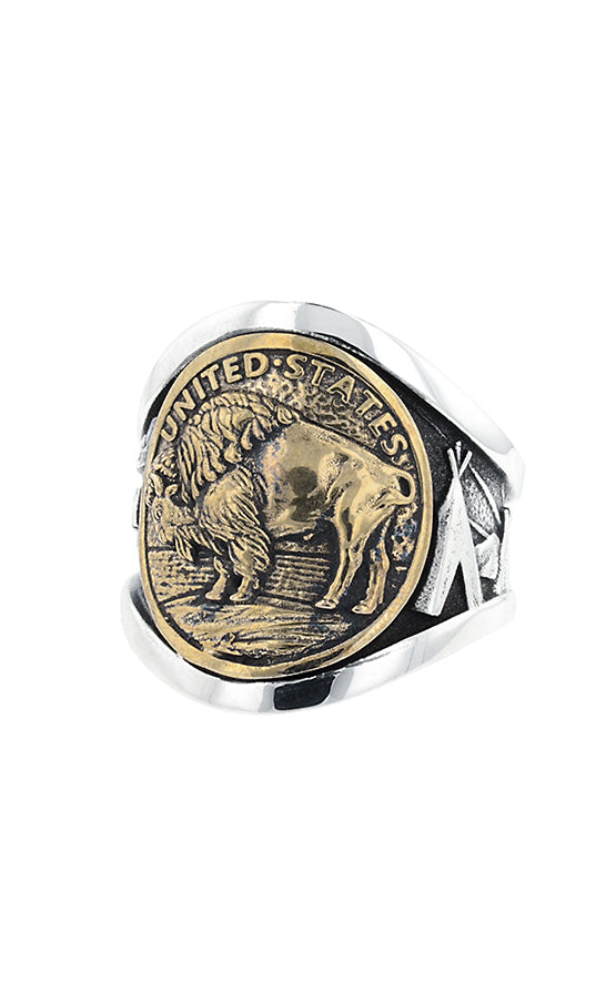King Baby Buffalo Nickel Cigar Band
