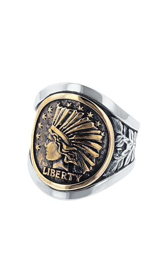 Liberty Headdress Cigar Band