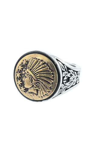 King Baby Liberty Headdress Ring