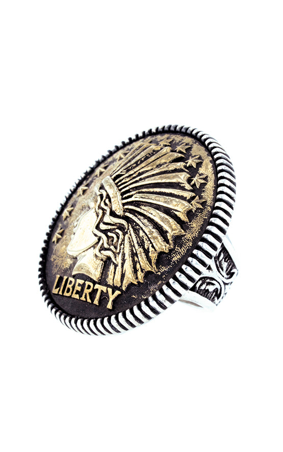 King Baby Statement Headdress Ring