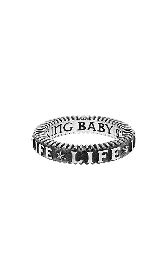 King Baby Life Stackable Ring