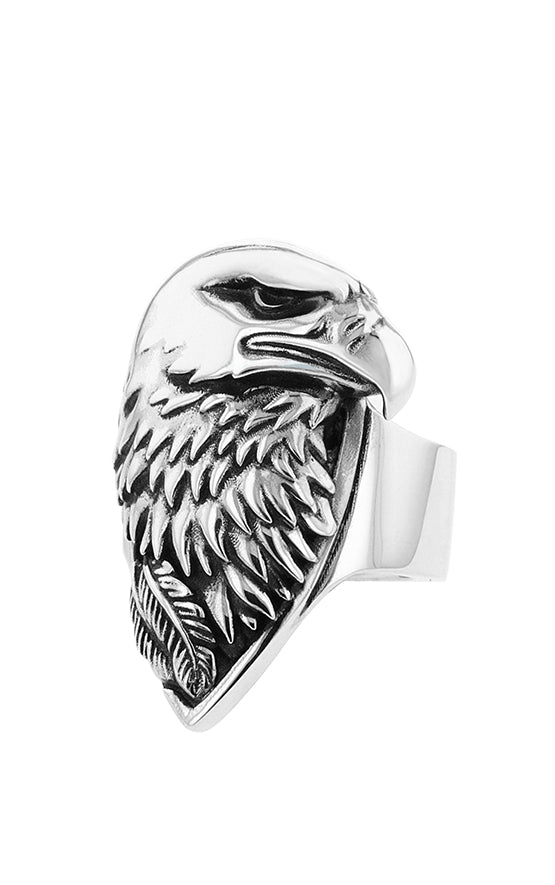 King Baby Large Eagle Ring