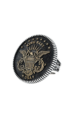 Statement Eagle Ring
