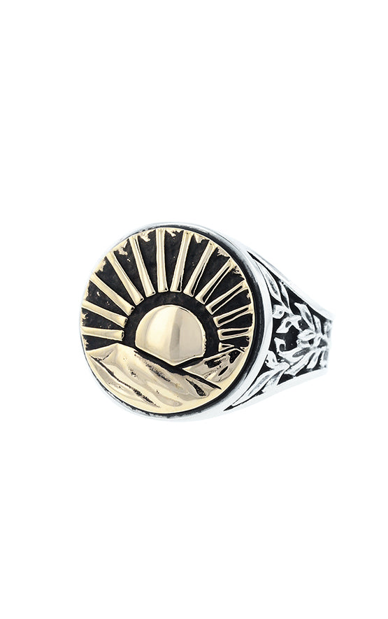 King Baby Sun Signet Ring