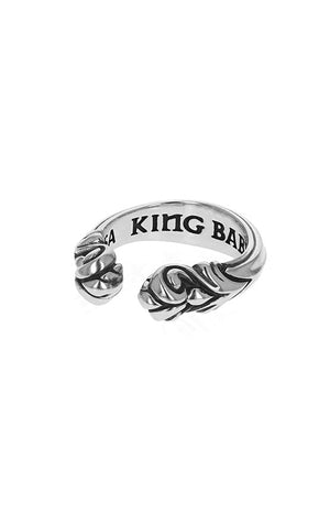 Horseshoe Scroll Ring