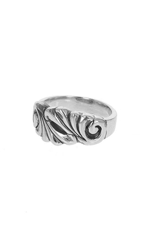 Classic Scroll Work Ring