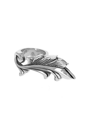 Feathered Scroll Ring