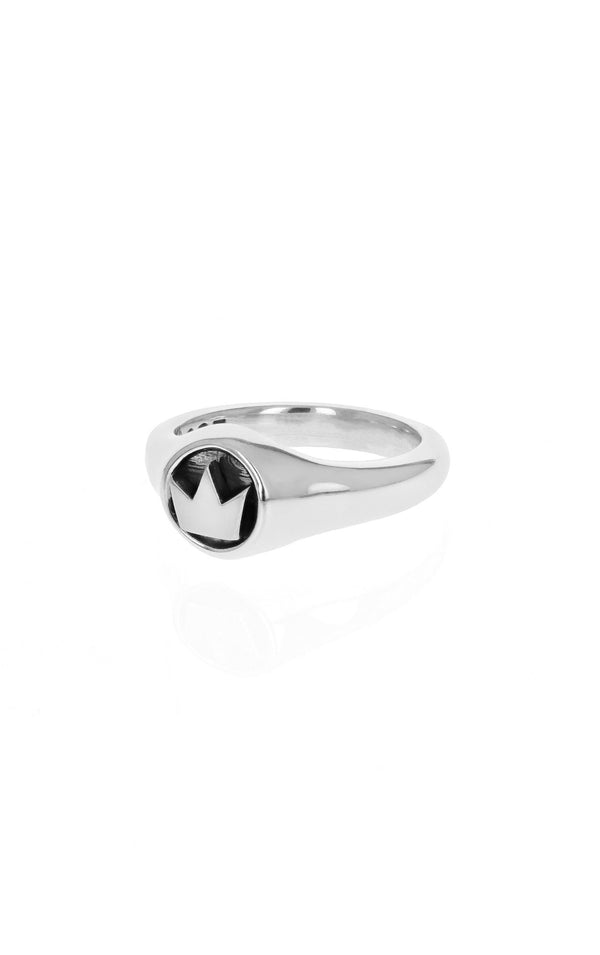 king baby small crown ring